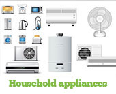 household appliances cleaning