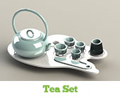 tea set cleaning