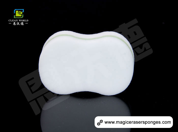 Shaped Compound Melamine Eraser Sponge