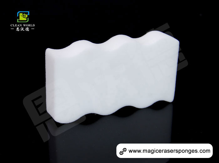 Wave Shaped Magic Melamine Eraser Sponge