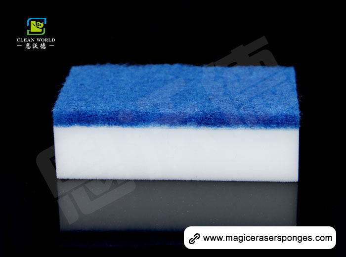 Scouring Pad with magic eraser Sponge