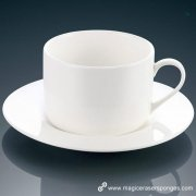 How to clean white color tea cup?