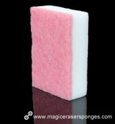 New design scouring pad compound melamine sponge