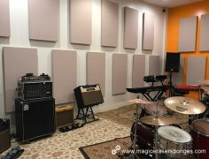 New material melamine foam acoustic wall panel price